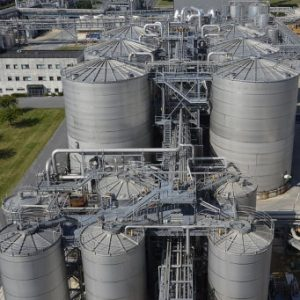 Bio-gas is produced during the biological breakdown of organic solids through anaerobic digestion