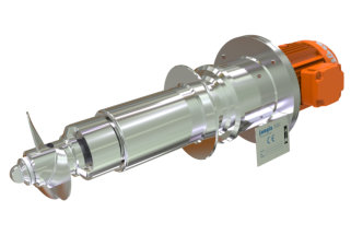 Tank Side Entry Agitators-Mixers various liquid viscosities 2